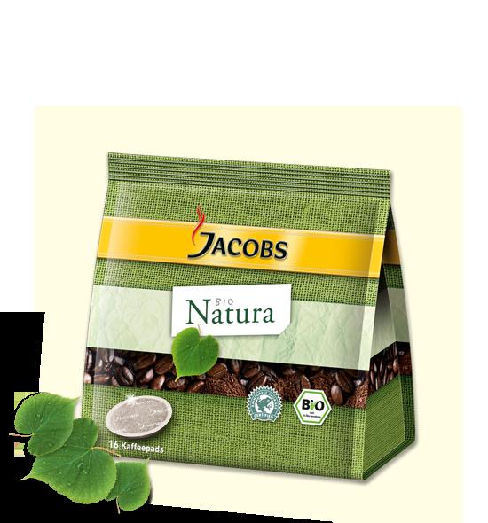 Jacobs Natura Kaffeepads