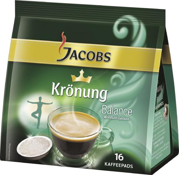 jacobs kaffeepads crema balance. Black Bedroom Furniture Sets. Home Design Ideas