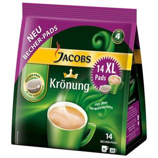 Becherpads von Jacobs Krönung