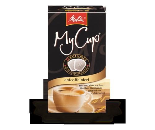 MyCup Entkoffeiniert | Kaffeepads Melitta