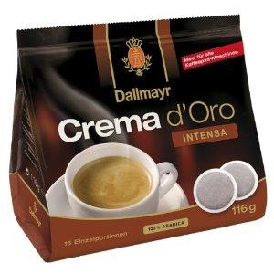 Dallmayr Crema d'Oro Intensa Pads online kaufen